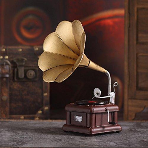 GFEI European Adornos Antiguos Tocadiscos/Retro fonógrafo de ...