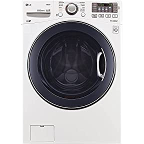 LG WM3770HWA 27' Front Load Washer with 4.5 cu. ft. Capacity, in White