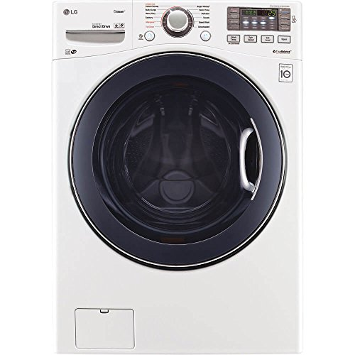 """LG WM3770HWA 27"""" Front Load Washer with 4.5 cu. ft..."""