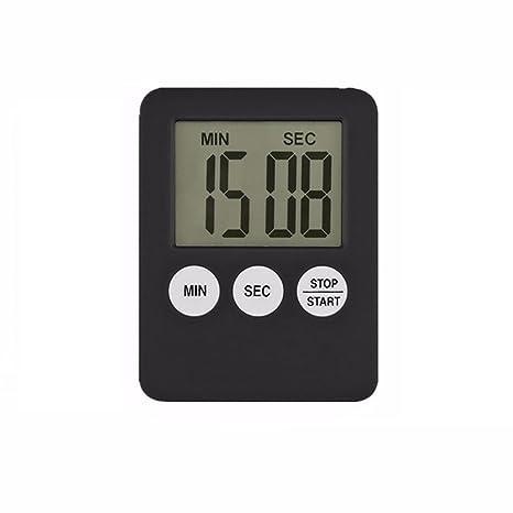 quanjucheer cocina cocinar LCD Digita temporizador countdownl, magnético alarma reloj recordar equipo 5.3cm x