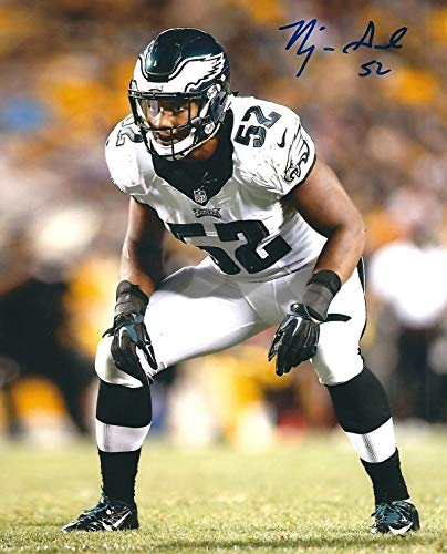 huge selection of 2263f ecd06 Autographed Signed Najee Goode 8x10 Philadelphia Eagles ...