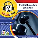 Criminal Procedure: Perfect Study Tool for Every Law Student & Practicing Attorney Audiobook by Benjamin Morton Narrated by Deaver Brown