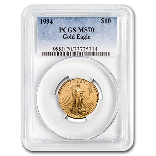 1994 1/4 oz Gold American Eagle MS-70 PCGS (1/4) MS-70 PCGS