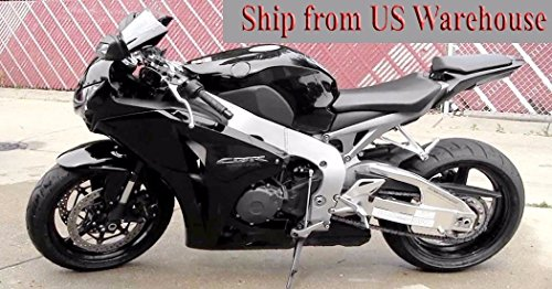 Black Abs Injection (Gloss Black ABS Fairing Bodywork Injection for 2008-2011 Honda CBR 1000 RR CBR1000RR)
