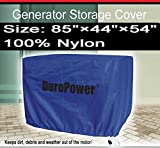 Doublelux New Nylon Universal Weatherproof Generator cover - Nylon Cover for small, medium and large - outdoor (85'' L x 44'' W x 54'' H)
