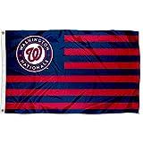 MLB Washington Nationals Nation Flag 3x5 Banner