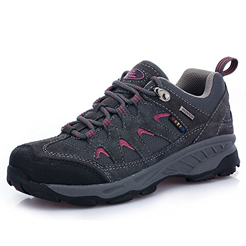 Image of The First Outdoor Women's Breathable Low Waterproof Shock Absorb Hiking Shoes, US 7