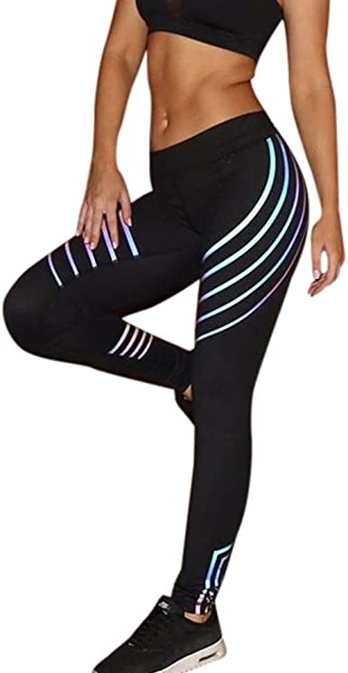 Cloth Running Pants Yoga Cartoon Printing Fitness Leggings Stretch Trousers