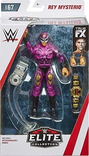 (Ringside Rey Mysterio - WWE Elite 67 Mattel Toy Wrestling Action Figure)
