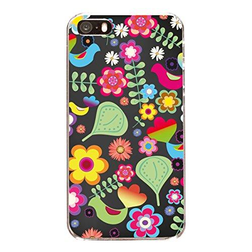 "Disagu Design Case Coque pour Apple iPhone 5s Housse etui coque pochette ""Blüten Matroschka"""