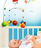 Goappugo Multicolor Musical Cot Mobile Hanging Toys For Babies Bed Cradle