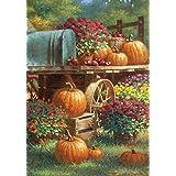 Superbe Toland Home Garden Farm Pumpkin 28 X 40 Inch Decorative Rustic Fall Autumn  Harvest Flower House