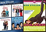 Ben Stiller's Comedic Gold Collection: Ben Stiller Spotlight Series Meet the Parents/ Meet the Fockers/ Along Came Polly/ Reality Bites+ Zoolander (DVD Comedy Bundle/ 5 Feature Films)