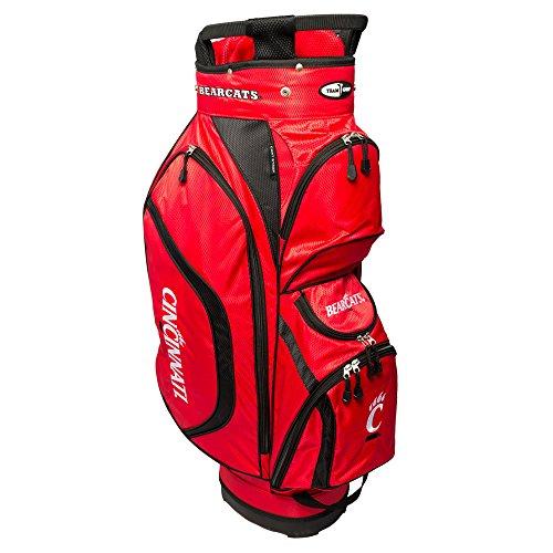 Team Golf NCAA Clubhouse Cart Bag, Cincinnati by Team Golf