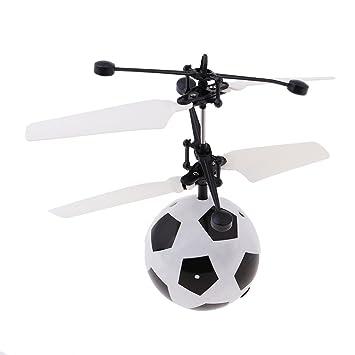 D DOLITY Mini RC Drone Bola Voladora LED Flash Juguetes Niño ...