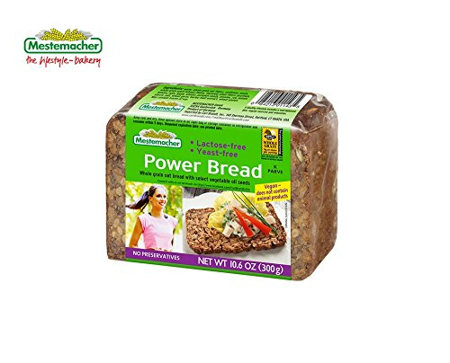 MESTEMACHER BREAD, BREAD, POWER, Pack of 9, Size 10.6 OZ - No Artificial Ingredients Kosher Vegan Yeast Free