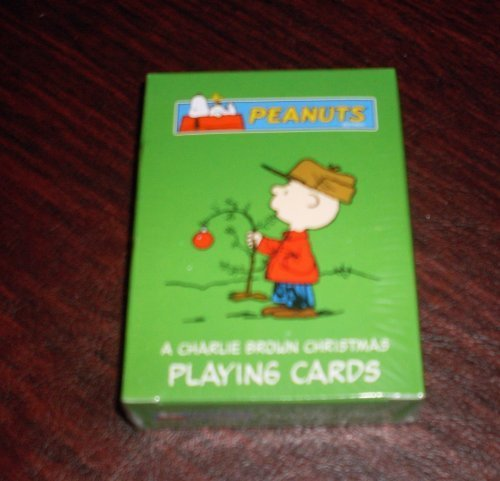 Peanuts Snoopy a Charlie Brown Christmas Green Deck Playing Cards ()