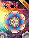 Magical Geometric Coloring Book: An Adult
