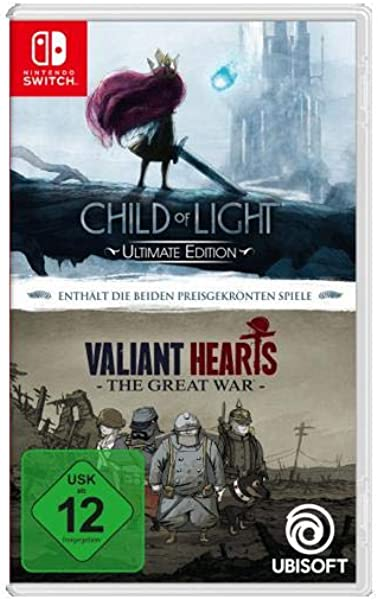 Child of Light Ultimate Edition + Valiant Hearts: The Great War ...