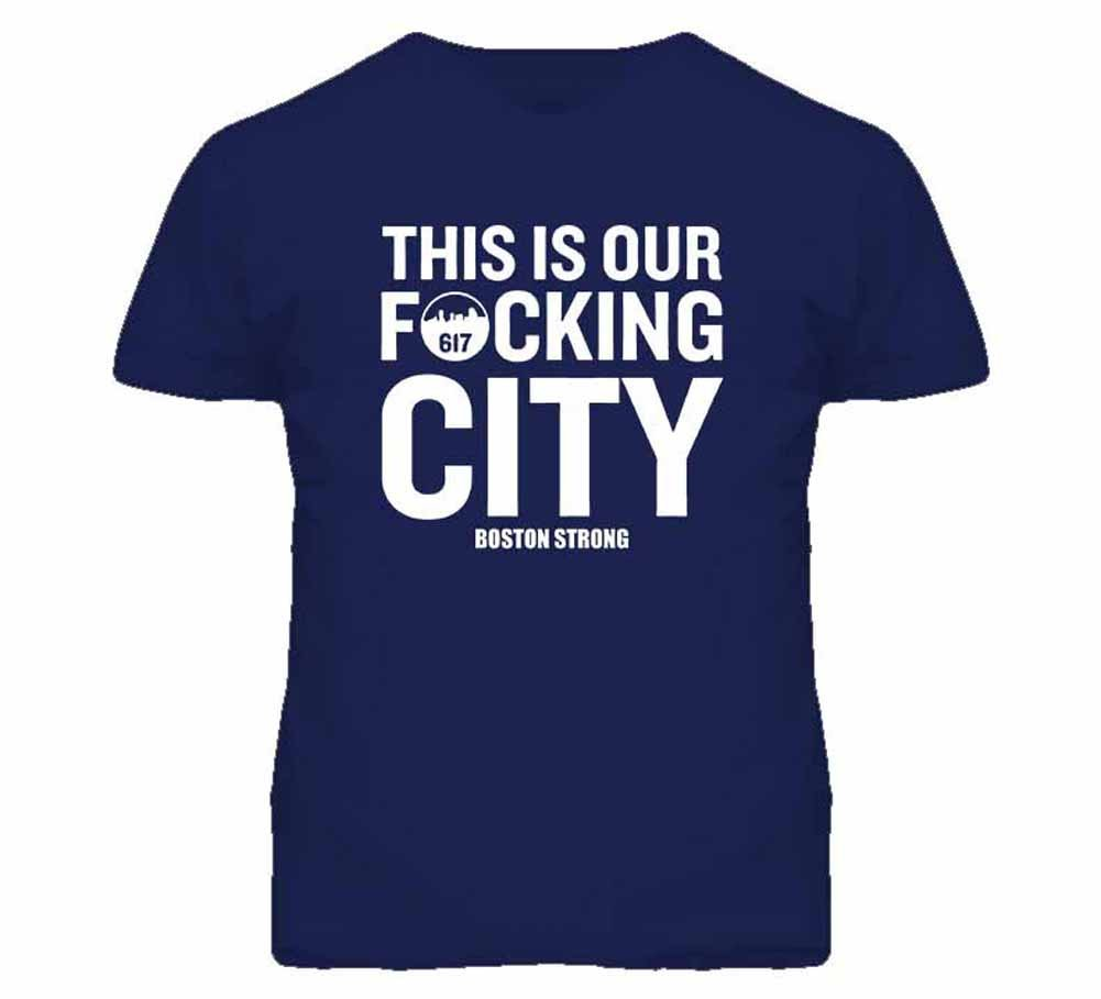 Tshirt Bandits S This Is Our Fcking City T Shirt
