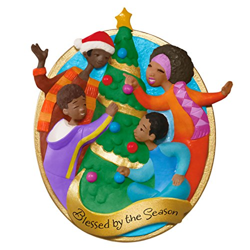 hallmark keepsake family christmas blessed by the season holiday ornament - African Christmas Decorations