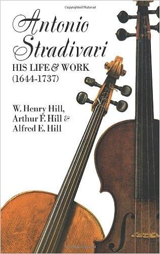 Antonio Stradivari: His Life and Work Dover Books on Music: Amazon.es: W. H. Hill, Francis A. Davis: Libros en idiomas extranjeros