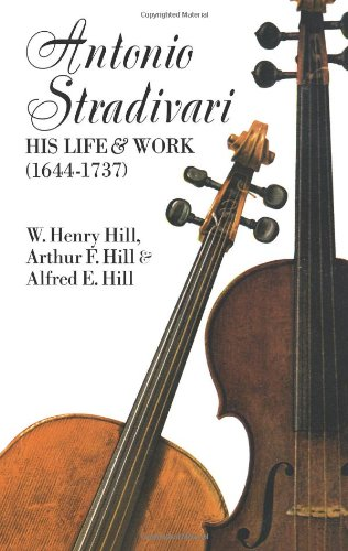 Antonio Stradivari: His Life and Work (1644-1737)