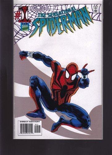 SENSATIONAL SPIDER MAN #1 RARE WHITE VARIANT 1000 PRINTED
