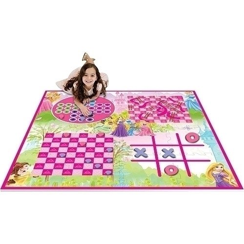 Disney Princess Activity Play Mat - 4 Games, 4 x 4 ()