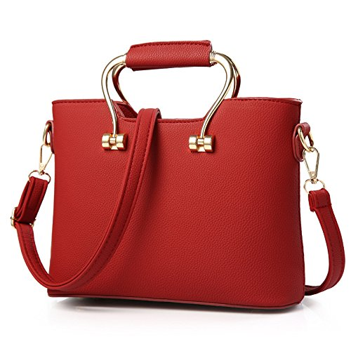 VINICIO Women's Fashionable Sweet Pure Soft PU Leather Shouldeer Bag - Shopping Best Chicago Mall