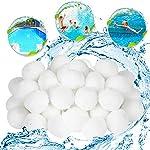 EKKONG 700g Filtro Balls,Filtro per Piscina,Filtri Balls per Acquario,Sfere per Filtrazione, 700g sostituiscono 25kg… 51aD8B6BaeL. SS150