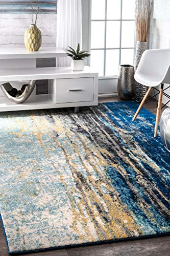 (nuLOOM Contemporary Katharina Oval Rug, 6' 7