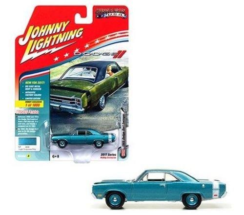 JOHNNY LIGHTNING LIMITED EDITION 1:64 MUSCLE CARS U.S.A. 2017 - VERSION A - 1969 DODGE DART SWINGER JLMC011-24A from Johnny Lightning