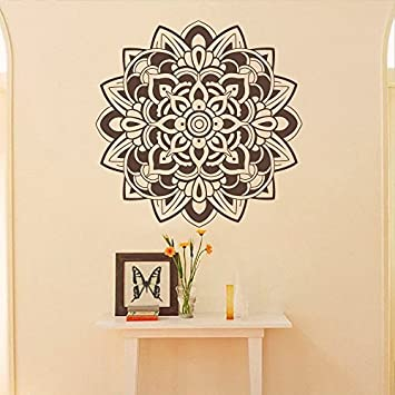Amazon.com: Mandala - Adhesivo decorativo para pared, diseño ...