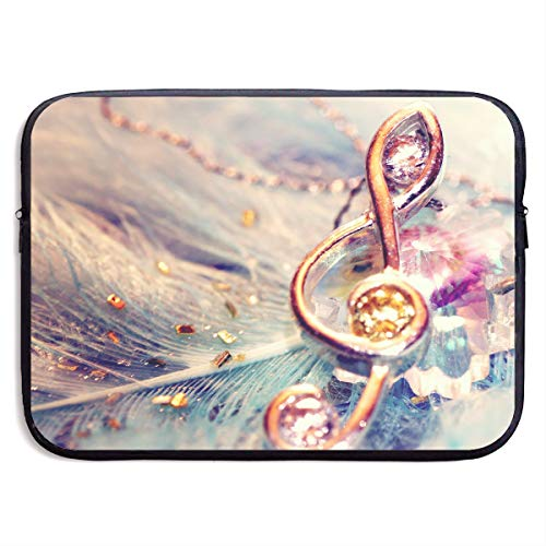 - Jingclor Business Briefcase Sleeve Metal Musical Notes Ornaments Portable Laptop Protective Bag for MacBook Pro/MacBook Air/Asus/Dell