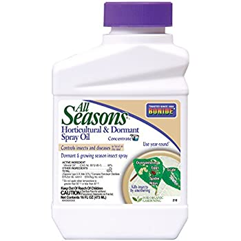 Bonide Products All Seasons 210 Horticultural Spray Oil Concentrate  - 16 oz