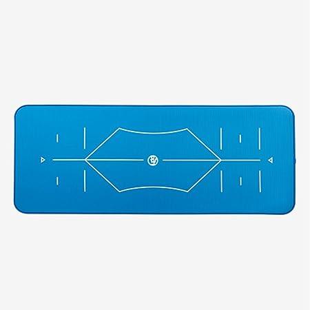 WYZ Aptitud Eco amistoso Non Slip Yoga Mat, de Alta Densidad ...