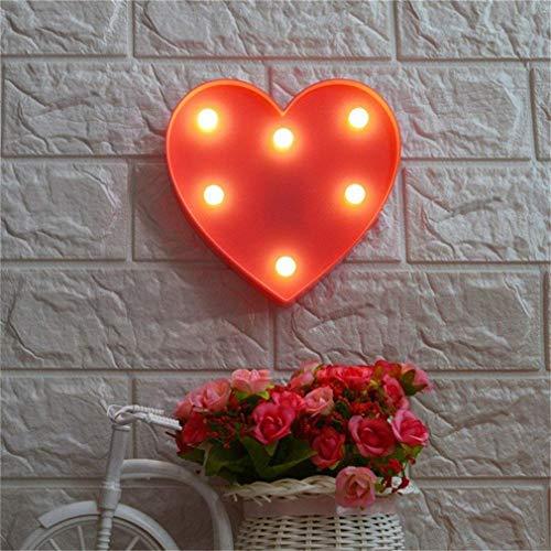 QiaoFei LED Love Light,Kids Light Wedding Light for Valentin