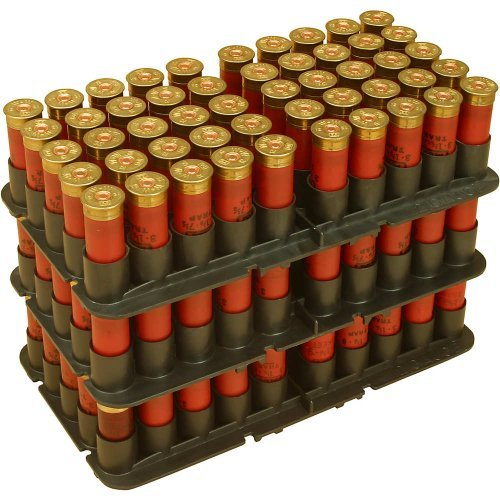 MTM ST-20-40 20-Gauge 50-Round Shotshell Tray Fits SF, SD and S-100 (Black) by MTM Case-Gard (Mtm Case Gard 100 Round Shotshell Case)