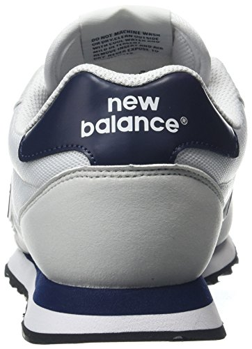 Sneaker White Balance Navy Bianco Uomo New 500 vXgnFqvE