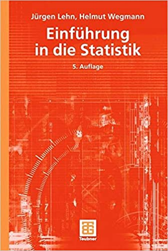 Book Einführung in die Statistik (Teubner Studienbücher Mathematik) (German Edition)