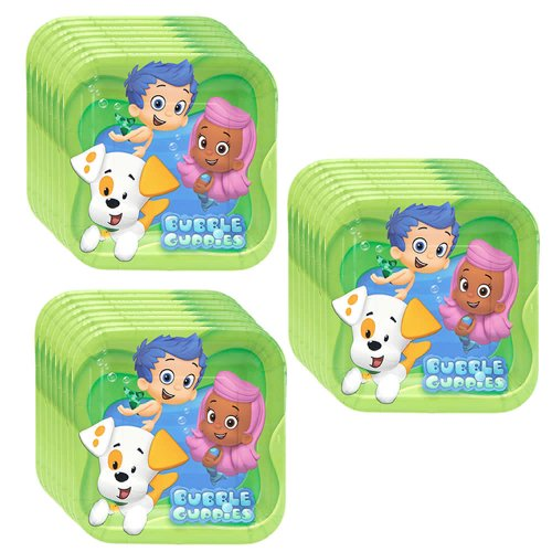 Bubble Guppies Dessert Plates - 24 Pieces