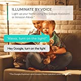 eufy Lumos Smart Bulb - White, Soft White (2700K), 9W, Works With Amazon Alexa, No Hub Required, Wi-Fi, 60W Equivalent, Dimmable LED Bulb, A19, E26, 800 Lumens