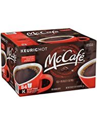 McCafe Premium Roast Keurig K Cup Coffee Pods, 84 Count (Pack of 1)
