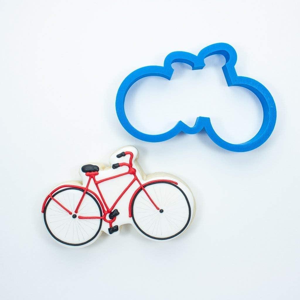 Esmerilado de galletas, galletas con forma de bicicleta: Amazon.es ...