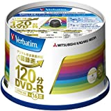 三菱化学メディア Verbatim DVD-R(CPRM) VHR12JP50V4 (1回録画用/120分/1-16倍速/スピンドルケース 50枚パック)