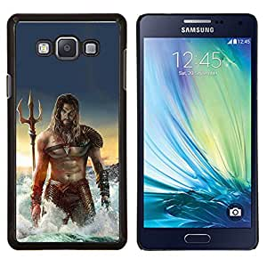Dragon Case - FOR Samsung Galaxy A7 - sexy man sea abs muscles Poseidon - Caja protectora de pl??stico duro de la cubierta Dise?¡Ào Slim Fit