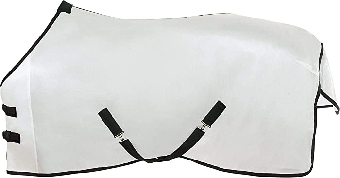 HORZE - Horse Durafit Fly Sheet, Stay Cool, Protect Against Insects, Great for Summer & Spring
