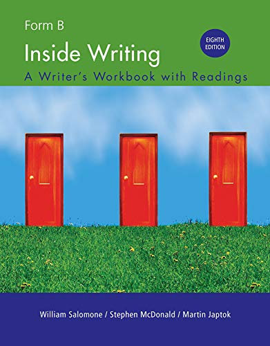 Inside Writing: Form B, Spiral bound Version