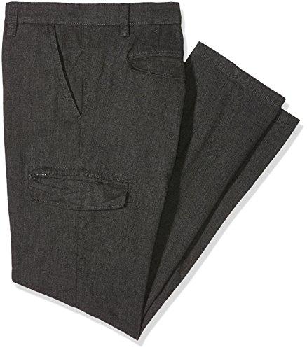 Homme oliver 98q1 Size charcoal Gris Big Pantalon S BxFZp